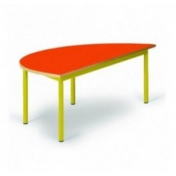 Table maternelle demi-lune Noa