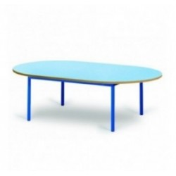Table de maternelle ovale Noa