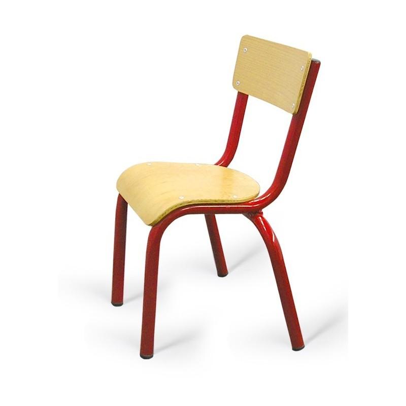 chaise d 39 cole maternelle noa chaise d 39 cole maternelle en bois et m tal cofradis. Black Bedroom Furniture Sets. Home Design Ideas
