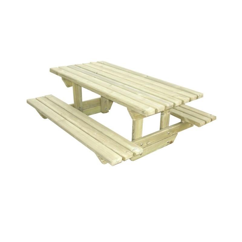 table de pique nique en bois pour enfant table ext rieure pour enfant table en bois. Black Bedroom Furniture Sets. Home Design Ideas