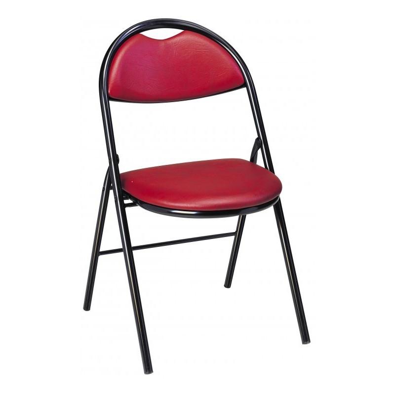 chaise pliante et empilable florence chaise pliante et. Black Bedroom Furniture Sets. Home Design Ideas