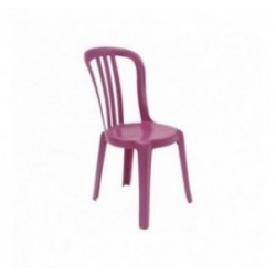 Chaise empilable plastique Miami Color