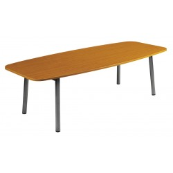 Table de réunion Oblong ou Tonneau