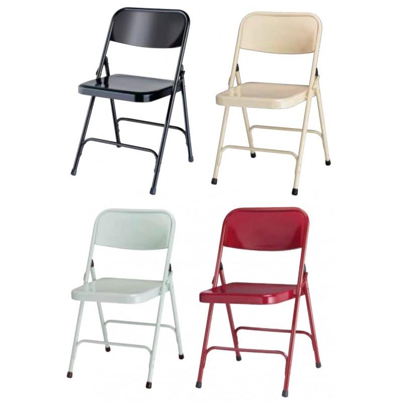 chaise pliante en m tal g nes chaise m tallique pliante chaise pliante noire en m tal cofradis. Black Bedroom Furniture Sets. Home Design Ideas