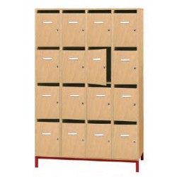 ARMOIRE CASIERS COURRIER