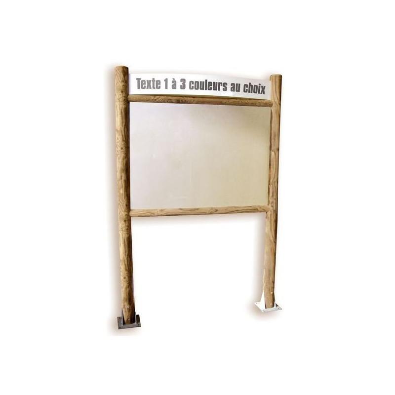 panneaux affichage ext rieur bois et fond pvc panneaux. Black Bedroom Furniture Sets. Home Design Ideas