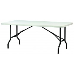 Table polypro pliante en plastique