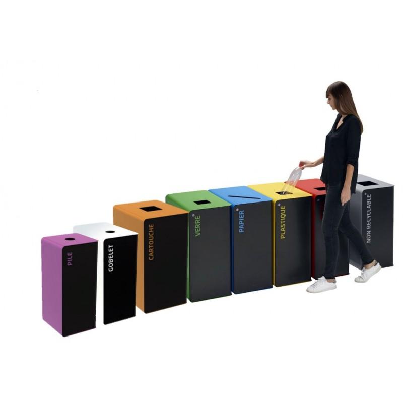 prix d 39 une poubelle int rieure de tri s lectif corbeille. Black Bedroom Furniture Sets. Home Design Ideas