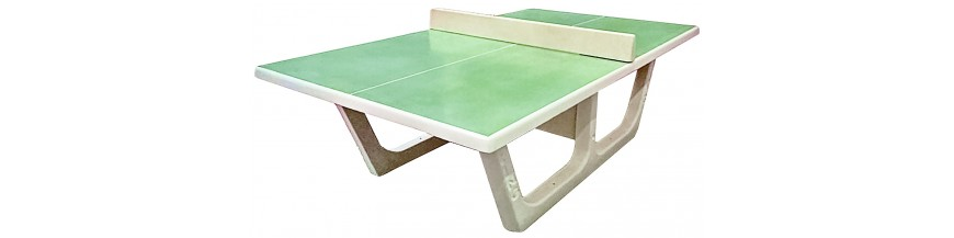 Table de ping pong en b ton table de ping pong d - Table de ping pong exterieur en beton ...