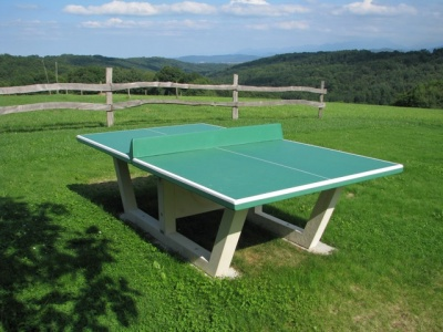 Table ping pong en b ton arm noa tennis de table en b ton - Table de ping pong exterieur en beton ...