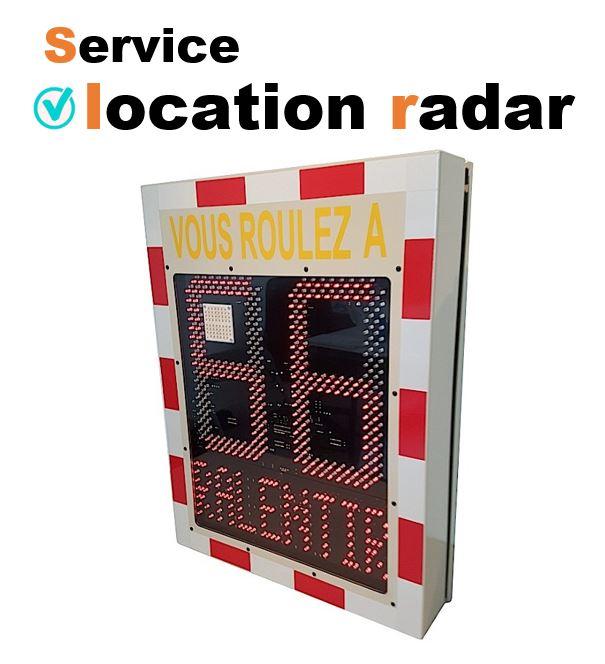 Logo location radar pédagogique
