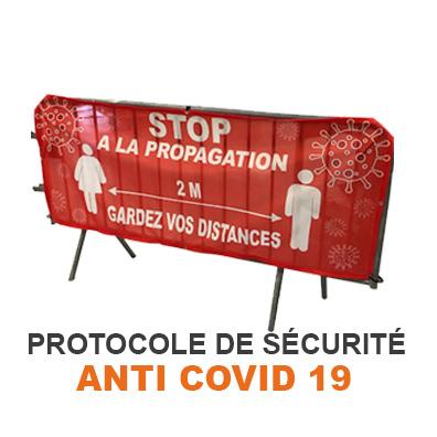 Protocole sécuritaire anti transmission Covid 19