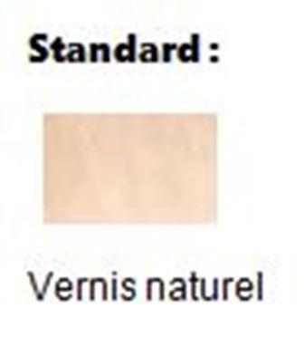 La finition standard de la chaise coque bois en vernis naturel - Cofradis Collectivités