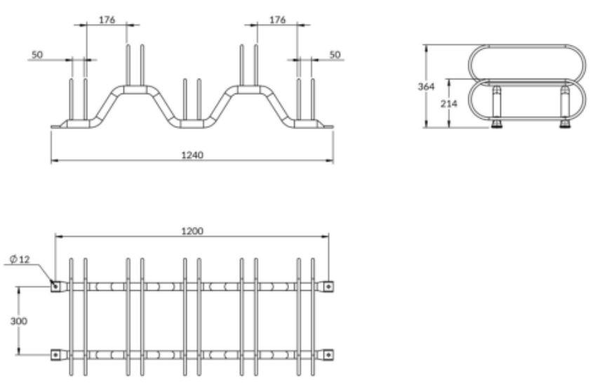 dimensions-support-velos-acier-5-places-