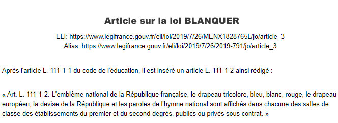 En savoir plus sur la loi Blanquer