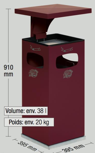 dimensions-cendrier-exterieur-metal-cofr