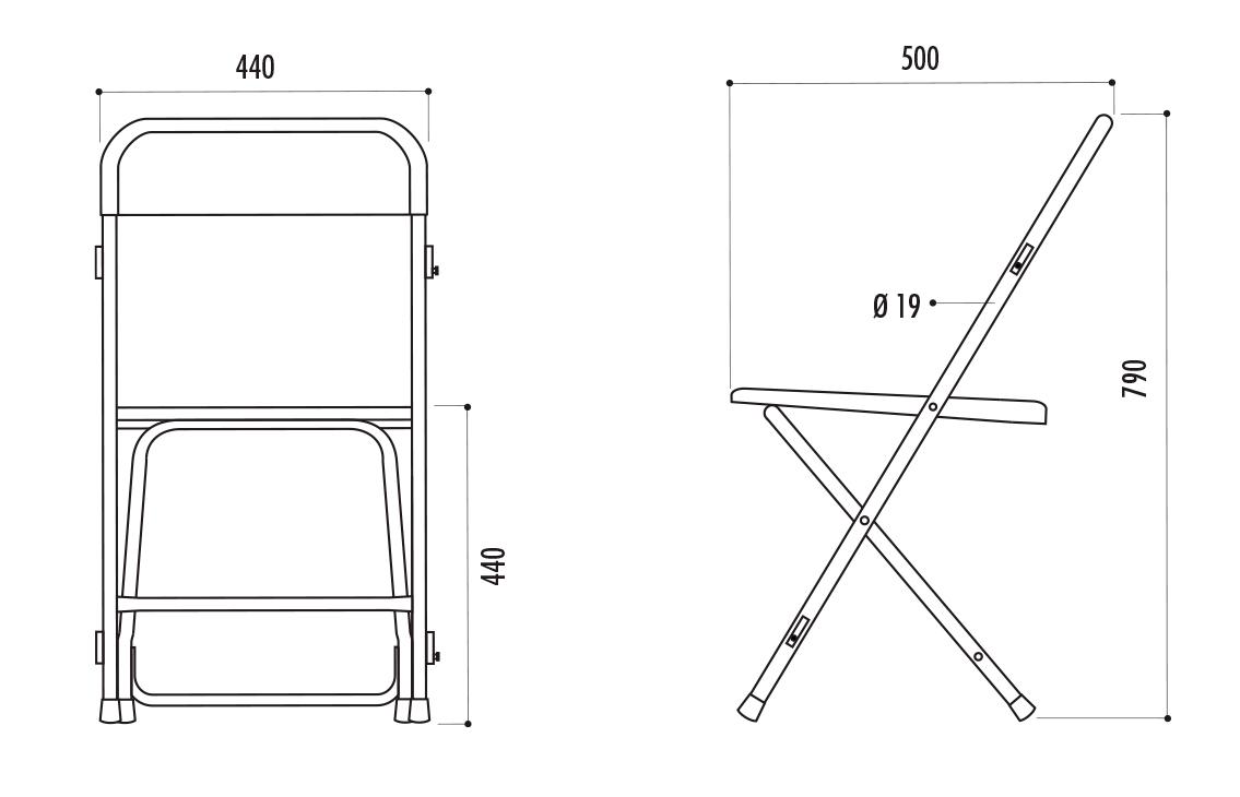 chaise pliante polypro chaise pliante prato chaise pliante samsonite cofradis. Black Bedroom Furniture Sets. Home Design Ideas