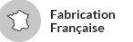 Fabrication française pour ce blason